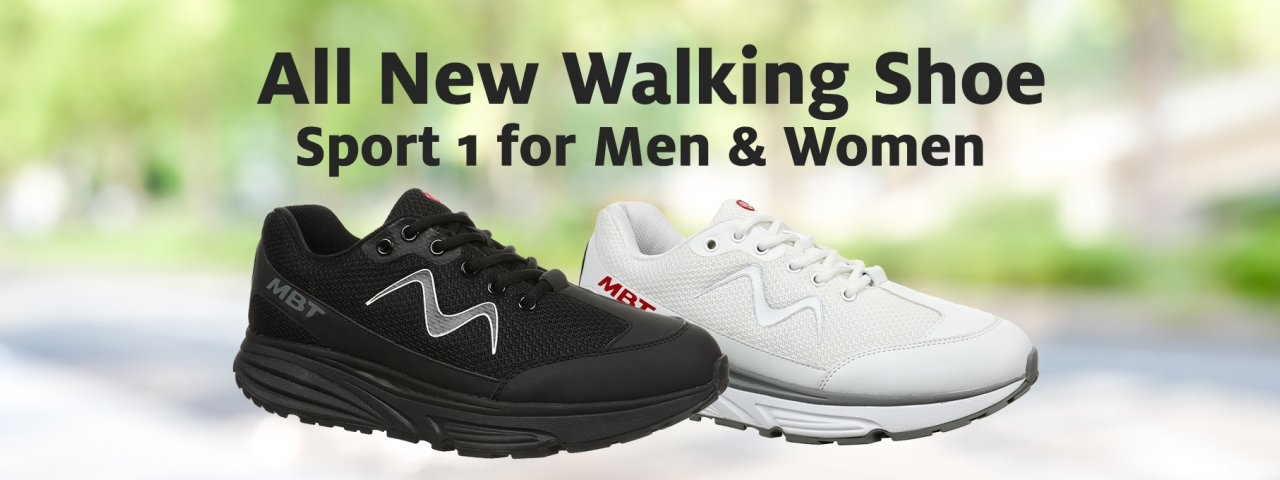 Shop the all new MBT Sport 1 for Men and Women