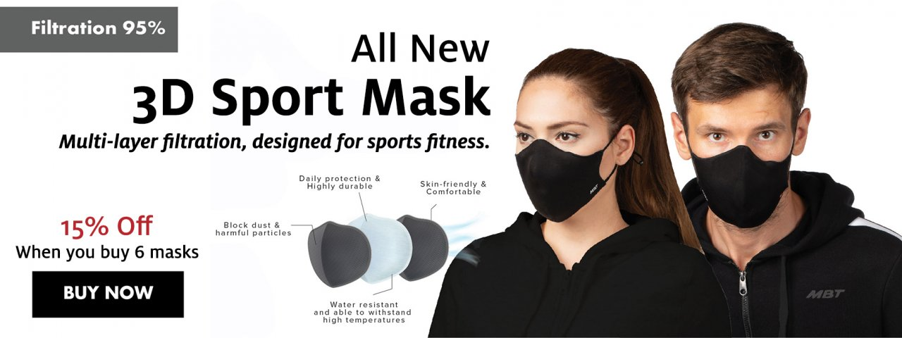 All new 3D Sport Mask
