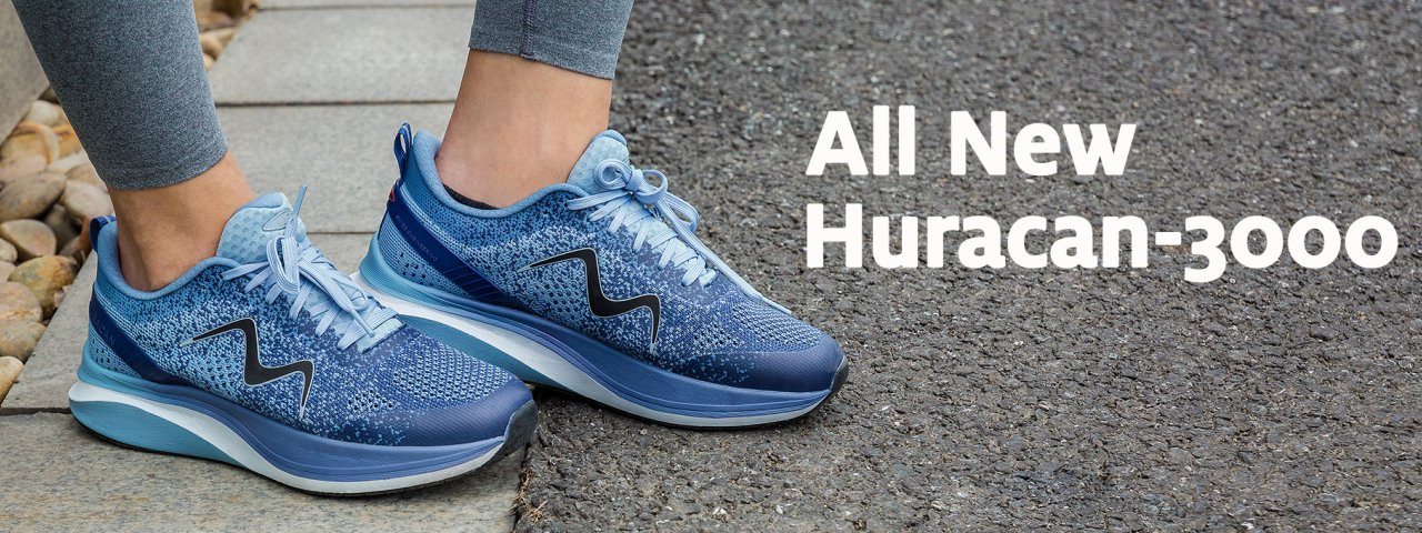 All New Huracan-3000 Running Shoe
