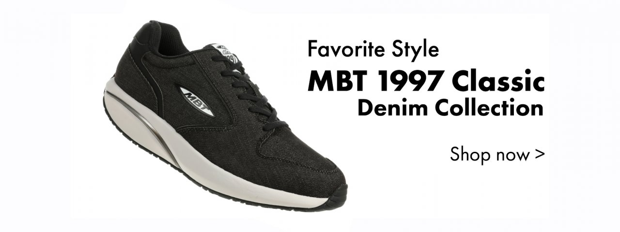 All new MBT 1997 Denim Collection