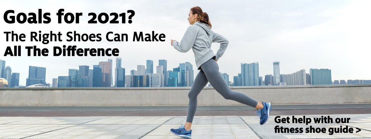 Find the right shoes to meet your goals this year