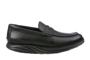 Men's Boston Black Loafers 700917-03N Main