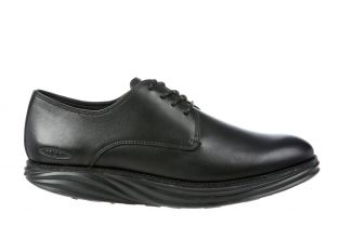 Men's Boston Black Nappa Oxfords 700916-03N Main