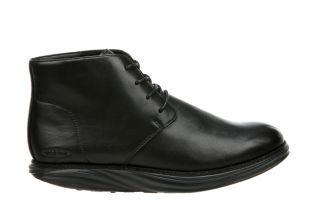 Men's Cambridge Black Mid Cut Boots 700941-03N Main