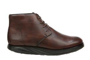 Men's Cambridge Dark Brown Mid Cut Boots 700941-23N Main