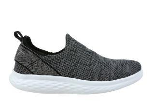 Men's Rome Steel Grey Slip-Ons 702634-1375M Size 9