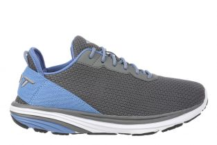 Men's Gadi Grey/Light Blue Lightweight Walking Sneakers