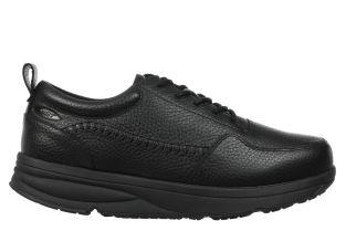 Men's Jumba Casual Leather Lace Up Shoe Black