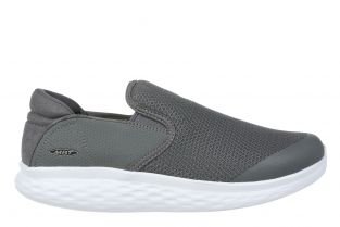 Men's Modena Grey Walking Slip-Ons 702625-20Y Main