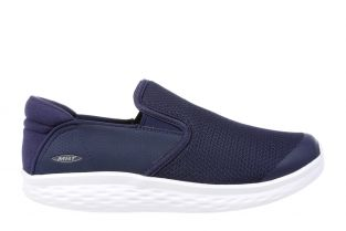 Men's Modena Navy Walking Slip-Ons 702625-12Y  Main