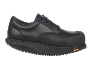 Unisex Omega Black Steel Toe Safety Shoes 700753-03 Main