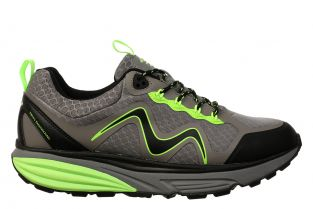 Men's Tevo Waterproof Shoe Grey/Lime Green