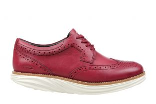 Women's Boston Wing Tip Burgundy Oxfords 700914-1006 Main