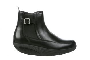 Women's Chelsea Black Boots 702655-03N Main