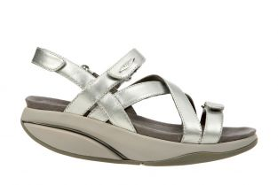 Women's Kiburi Silver Dress Sandals 400319-754N Main