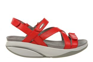 Women's Kiburi Red Dress Sandals 400319-06 Main