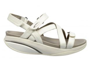 Women's Kiburi White Dress Sandals 400319-16