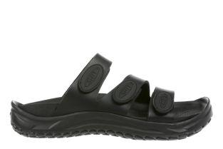 Women's Lamu Black Recovery Sandals