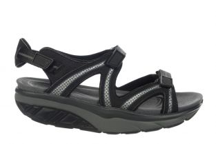 Women's Lila 6 Sport Black/Charcoal Grey Outdoor Sandals 700667-201L Small