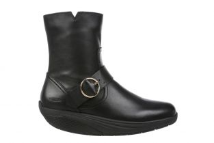 Women's Magee Black Nappa Mid Cut Boots