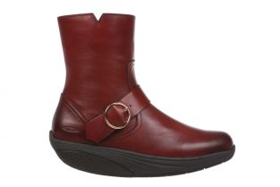 Women's Magee Burnished Dark Brown Mid Cut Boots