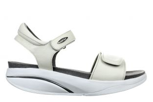 Women's Malia White Nappa Sandals 700955-16N Main