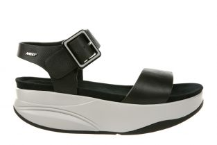 Women's Manni 2 Black Nappa Dress Sandals 700960-03N Main