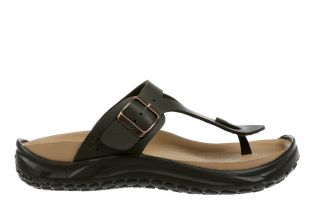 Women's Meru Dark Brown Recovery Sandals 900004-23L Main
