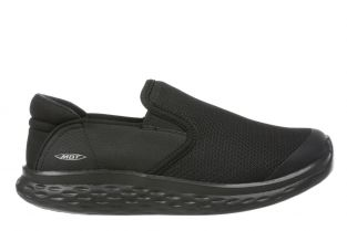 Women's Modena Black Walking Slip-Ons 702626-257Y Small