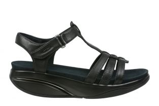 Women's Rani Black Sandals 70999-1301N Small