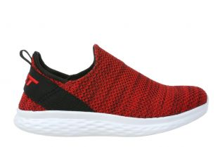 Women's Rome Red Walking Slip-Ons 702637-06M Main