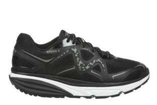 Women's Simba 3 Black Walking Sneakers 702028-03Y Small