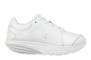 Women's Simba Trainer White/Silver Fitness Walking Sneakers 700861-409F  Main