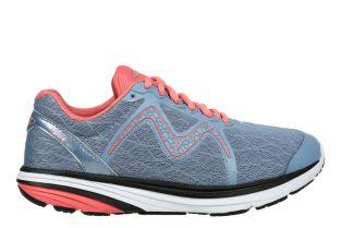 Women's Speed 2 Grey/Peach Lightweight Running Sneakers