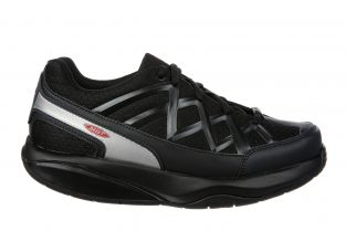 Women's Sport 3 Comfort Width Black Walking Sneakers 700816-03Y Main