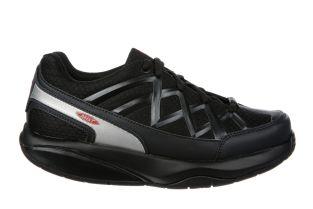 Women's Sport 3 Black Fitness Walking Sneakers Main