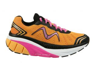 Women's Zee 17 Orange/Pink/Black/White Running Sneakers
