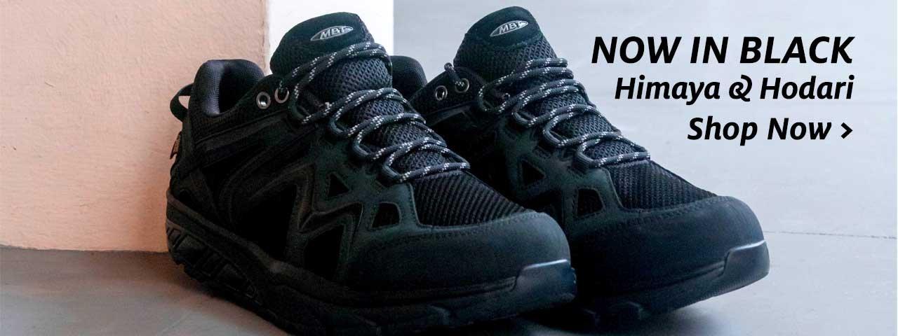 Hodari and Himaya Outdoor Shoes in Black