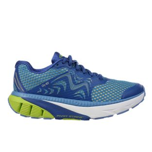 Men's GT 18 Navy Blue/Lemon Green Endurance Running Sneakers 702015-1253Y Small