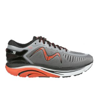 Men's GT 2 Charcoal Grey/Orange Endurance Running Sneakers 702023-1273Y Small