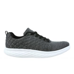 Men's Lucca Dark Grey Casual Sneakers