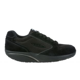 Men's MBT 1997 Classic Black Leather Casual Sneakers