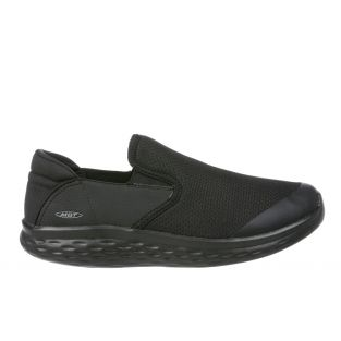 Men's Modena Black Walking Slip-Ons 702625-257Y Small