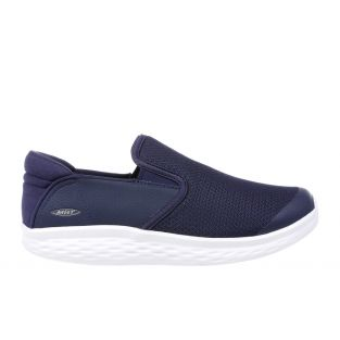 Men's Modena Navy Walking Slip-Ons 702625-12Y  Small