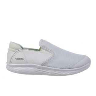 Men's Modena White Walking Slip-Ons 702625-16Y Small