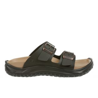 Men's Nakuru Dark Brown Recovery Sandals 900005-23L Small