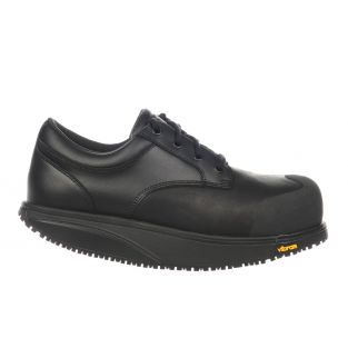Unisex Omega Black Steel Toe Safety Shoes