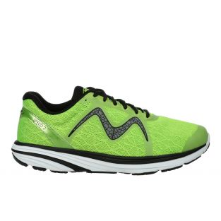 Men's Speed 2 Lime Green Lightweight Running Sneakers 702025-1282Y Small