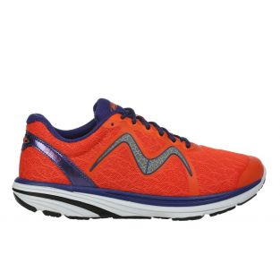 Men's Speed 2 Orange/Navy Lightweight Running Sneakers 702025-1281Y Small