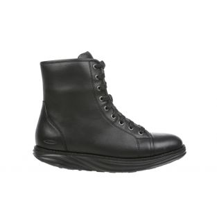 Women's Boston Black Mid Cut Boots 700990-03N Small